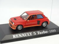 UH Press 1/43 - Renault 5 Turbo 1980 Rosso