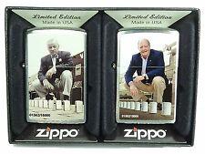 Zippo a series en Time Limited Edition, 2 zippos en el juego nuevo 2003719 limitado