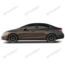 For: HONDA CIVIC SEDAN Painted Body Side Moldings W/ Color Insert Trim 2012-2015
