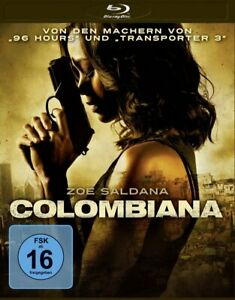 Colombiana [Blu-ray/NEU/OVP] Actionthriller über den Rachfeldzug einer Kolumbian
