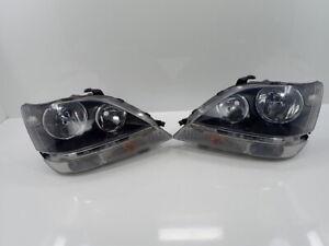JDM 1999 Toyota Harrier Lexus RX300 Black Housing Headlights Lights Lamps OEM