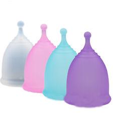 4 Unids / Lote Copa Menstrual para la Higiene Femenina Copa de Silicona MéD X1B8