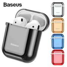 Baseus AirPods Case Protective TPU Skin Holder Bag for Apple AirPod Accessories