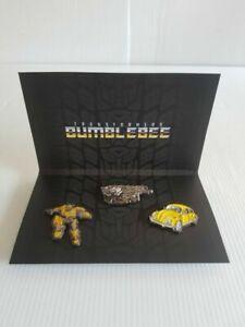 Set of Three Transformers/Bumblebee  Enamel Pins By Loot Crate  VOLKSWAGON