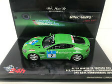 1:43 Minichamps 2008 ADAC 24 Hours Nurburgring #7 Aston Martin V8 Vantage (7th)