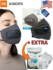 Xiaomi PURELY Fresh Air Purifying Electric Respirator Facemask with fan Reusable