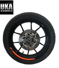 2018 KTM 125 125CC Duke Roue Arrière Michelin Pneu 150 60 17 Pignon Disque