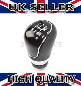 GEAR LEVER GEAR KNOB BLACK FOR FORD FIESTA FOCUS MONDEO CONNECT