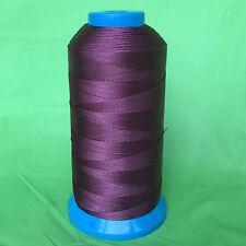 Dark Purple Bonded Nylon sewing Thread #69 T70 Upholstery canvas shoe 1500yds