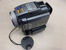 Sony DCR-PC120E Minidv Tape PAL Camcorder with T* Lens - Tape Tested with PSU