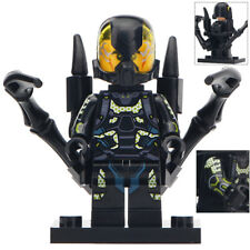 Ant Man (Yellow Jacket) - Marvel Comics Lego Moc Minifigure / Black Edition