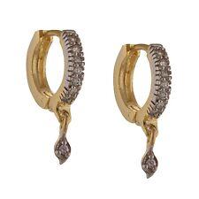 Sanskriti Zephyrr Fashion Hoop Earrings With American Diamonds For Women