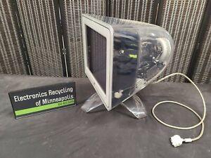 "Vintage Apple Studio Display 17"" Clear Shell Flat Screen CRT Monitor M7768 2000"
