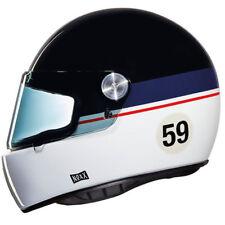 Nexx X.G100R Racer Cara Completa Casco De Motocicleta grandwin medio sin Visera Oscuro