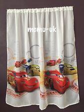 Disney Voile Net Curtain - CARS3 - 75 cm width x 150cm drop