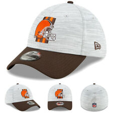NEW 2021 Cleveland Browns New Era NFL Training Camp 39THIRTY Flex Hat Official