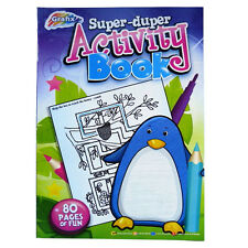 "A4 Childrens ""Super-Duper"" Educational Activity Book - 80 Pages - 297mm x 210mm"