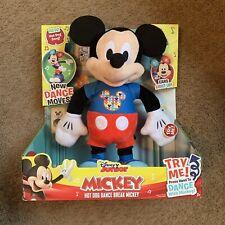 New listing New Disney Junior Mickey Mouse Hot Dog Dance Break Mickey Plush Interactive Toy