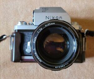 Nikon F Photomic Camera with Nikkor-S 55mm 1.2 lens.