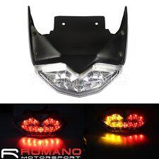 For Yamaha BWS X / ZUMA 125 Motorcycle LED Rear Taillight With Turn Signal Light