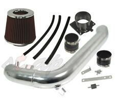 """For Nissan 240SX 89-94 DOHC Cold Air Intake System Chrome 2.75"""" Air Filter Red"""