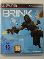 PLAYSTATION PS3 GAME Brink, used but GOOD