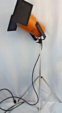 "Vintage Smith Victor AR40 Industrial Studio Light Orange 40"" - 66"" Made In USA"