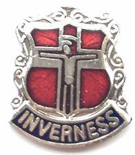 Inverness Scotland Small Enamel Lapel Pin Badge (T045)