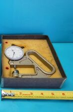 Used Dyer Thickness Gage With Vaper 0005 Dial Indicator
