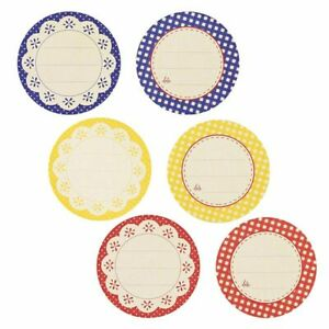 """120 Pack 2"""" Round Shaped Canning Labels Stickers for Jars Food Storage Preserves"""