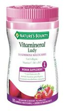 Nature's Bounty Vitamineral Lady 60 Gommose Masticabili