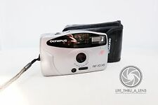 Olympus AF-10 XB 35mm film point and shoot camera with pouch lomo retro