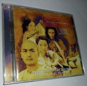 CD SOUNDTRACK: CROUCHING TIGER HIDDEN DRAGON