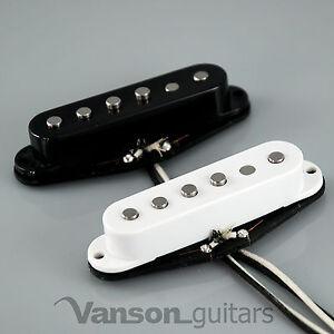 1 x NEW Vanson 'Vintage Pro' Alnico V Single Coil Pickup for Strat®* guitars