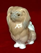 "LLADRO ""Pekinese Sitting"" #4641 Reg 365$ Very Cute Figurine Excellent Condition!"