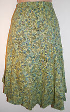 BNWT Gringo Circle Print Skirt S M 8 10 12 - Hippy Fair Trade Ethnic Boho Gypsy