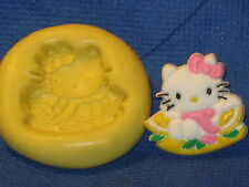 Hello Kitty Angel Silicone  Mold 506 Cake Chocolate Resin Fondant Sugarpaste
