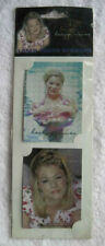 2 Lee Ann Rimes Photo Laser Stickers Half Set Very Nice Country Music Star