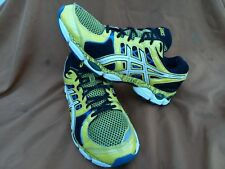 Asics Gel Nimbus 14 Limited Edition Mens Athletic Shoes Yellow Black Sz 10.5 M