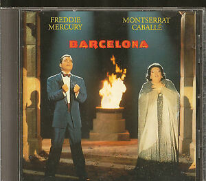 Freddie Mercury/ Montserrat Caballe': Barcelona        CD