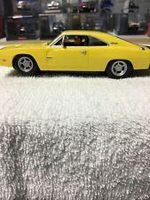 Carrera Yellow Dodge Charger 500 1/32 Slot Car. #27143