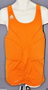 ~Adidas Pad Tank top Techfit Orange 3XT 3XL Tall basketball New padded shirt $70