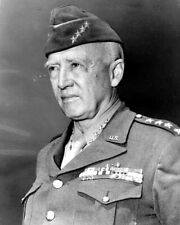 New World War II Photo: Famed American General George S. Patton, Jr. - 6 Sizes!