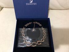 SWAROVSKI ROSE GOLD CIRCLET NECKLACE 5153380 NEW