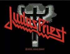 Judas Priest Fork Logo Woven Patch J002P Iron Maiden Ufo Tygers Of Pan Tang
