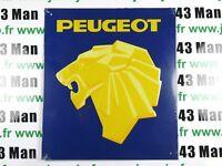 PB47F PLAQUE PUBLICITAIRE tolée age d'or Automobile : PEUGEOT 24 cm * 21 cm