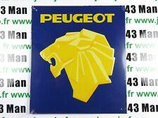 PB47N Placa Publicidad Chapado Age D'Or Automóvil: Peugeot 24CM 21CM