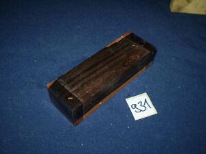 Ziricote Messergriff  Messergriffblock 120 x 40 x 30 mm  Nr. 931