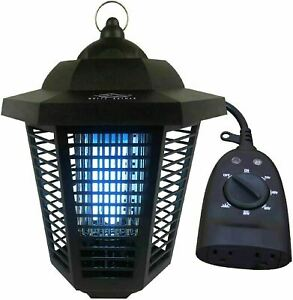 1/2 Acre Mosquito Killing Lamp Electric Bug Zapper with Outdoor Timer Included