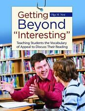 """GETTING BEYOND """"INTERESTING"""": TEACHING STUDENTS VOCABULARY OF By Olga M."""